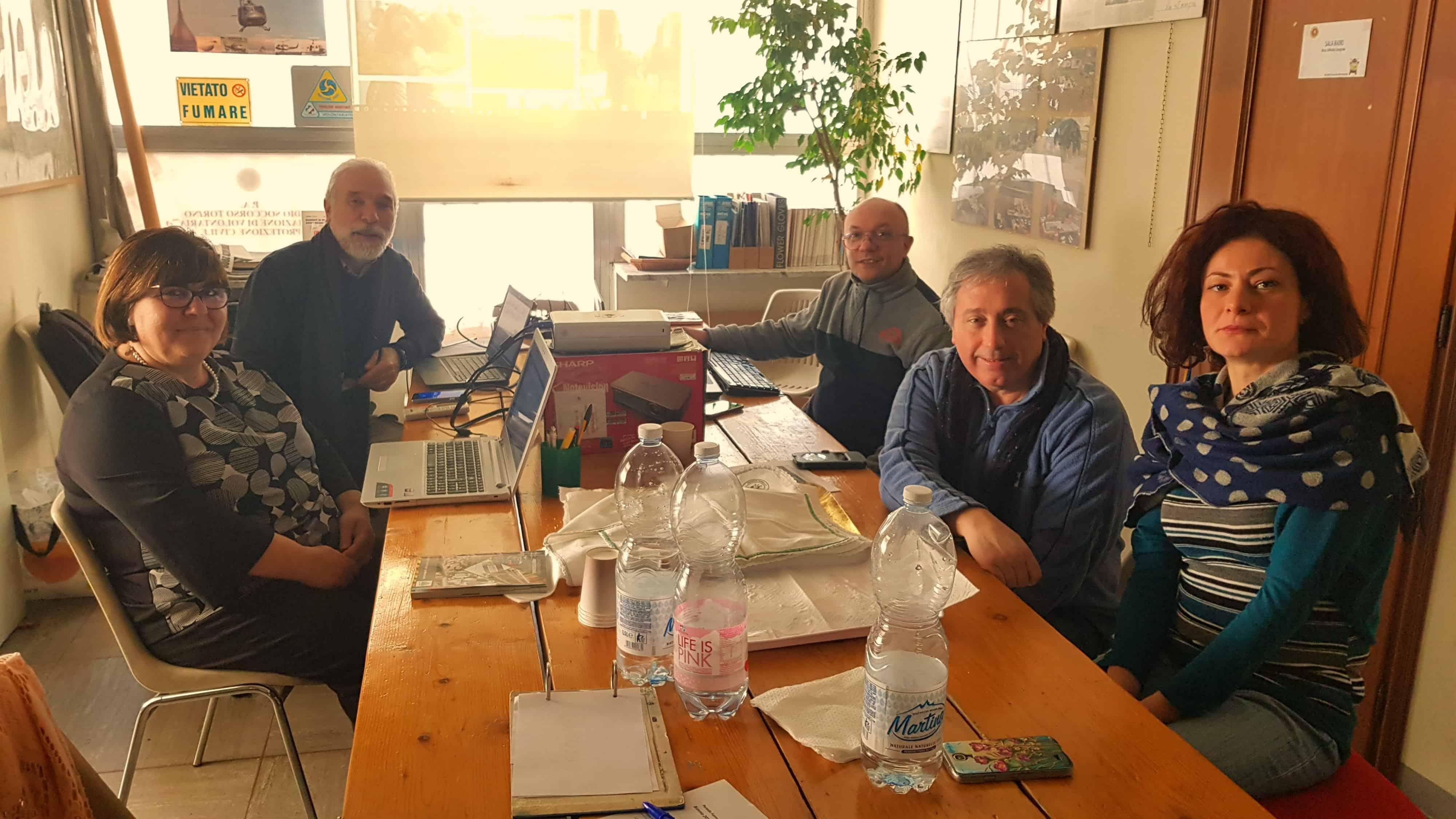 Corso di aggiornamento informatico in Radio Soccorso Torino